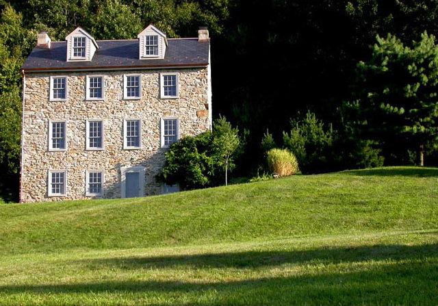 1760 Stone House Exterior